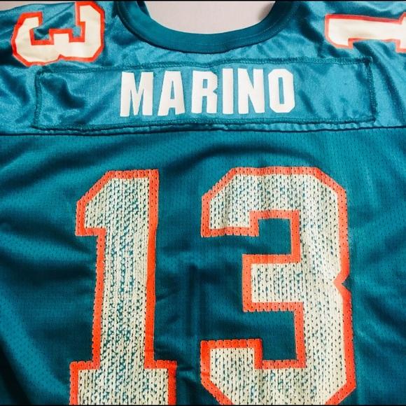 huge selection of 2ebd1 07c60 Vintage 90's Dan Marino Wilson Football Jersey